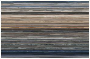 Artist Jason Salavon's digitally modified representation of the film Titanic. For more, see http://salavon.com/work/TopGrossingFilmAllTime/.